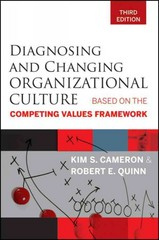 Diagnosing and Changing Organizational Culture 3rd Edition 9781118003305 1118003306