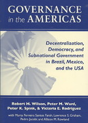Governance in the Americas 1st edition 9780268044114 0268044112