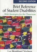 Brief Reference of Student Disabilities 2nd edition 9781412966337 1412966337