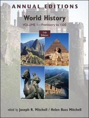 Annual Editions: World History 11th edition 9780078050879 0078050871