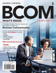 BCOM (with Printed Access Card) 3rd edition 9781111527778 1111527776