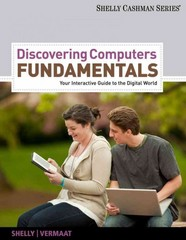 Discovering Computers: Fundamentals 8th edition 9781133387671 1133387675