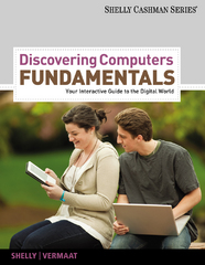 Discovering Computers Fundamentals 8th edition 9781111530457 1111530459
