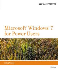 New Perspectives on Microsoft Windows 7 for Power Users 1st edition 9781111526498 1111526494