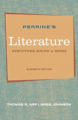 Perrine's Literature 11th edition 9780495897965 0495897965