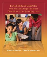 Teaching Students with Mild and High Incidence Disabilities at the Secondary Level 3rd Edition 9780132414050 0132414058