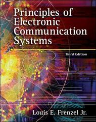 Principles of Electronic Communication Systems 3rd Edition 9780073107042 0073107042