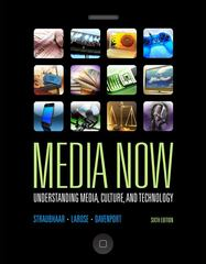 Media Now 6th Edition 9780495565956 0495565954