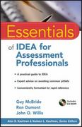 Essentials of IDEA for Assessment Professionals 1st Edition 9780470873922 0470873922