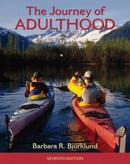 Journey of Adulthood 7th edition 9780205018055 020501805X