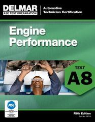 ASE Test Preparation - A8 Engine Performance 5th Edition 9781111127107 1111127107