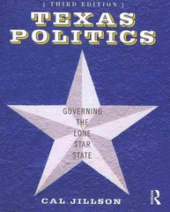 Texas Politics 4th Edition 9781135015473 1135015473