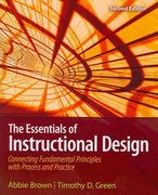 The Essentials of Instructional Design 2nd Edition 9780135084229 0135084229