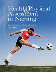 Health & Physical Assessment in Nursing 2nd edition 9780135114155 0135114152