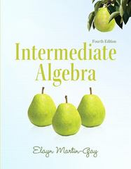 Intermediate Algebra 4th edition 9780321726377 0321726375