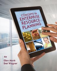 Concepts in Enterprise Resource Planning 4th Edition 9781111820398 1111820392