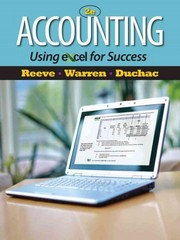 Accounting Using Excel for Success (with Essential Resources Excel Tutorials Printed Access Card) 2nd edition 9781111535216 1111535213
