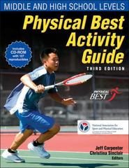 Physical Best Activity Guide 3rd Edition 9780736081184 0736081186