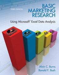 Basic Marketing Research with Excel 3rd Edition 9780135078228 0135078229