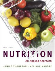 Nutrition: An Applied Approach 3rd Edition 9780321696649 0321696646