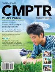 CMPTR (with Computers & Technology CourseMate with eBook  Printed Access Card) 1st edition 9781111527990 1111527997