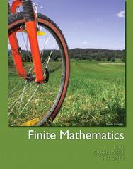 Finite Mathematics 10th edition 9780321748997 0321748999
