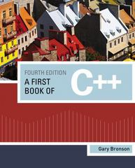 A First Book of C++ 4th edition 9781111531003 1111531005
