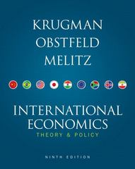 International Economics 9th edition 9780132997874 0132997878