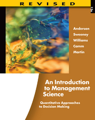 An Introduction to Management Science 13th edition 9781133387824 1133387829