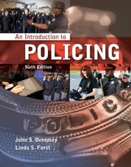 An Introduction to Policing 6th Edition 9781111137724 1111137722