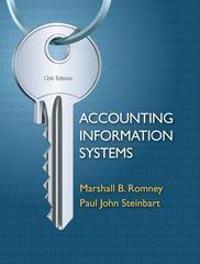 Accounting Information Systems 12th edition 9780132552622 0132552620
