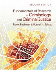 Fundamentals of Research in Criminology and Criminal Justice 2nd Edition 9781412991766 1412991765