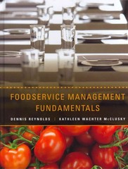 Foodservice Management Fundamentals 1st Edition 9780470409060 0470409061