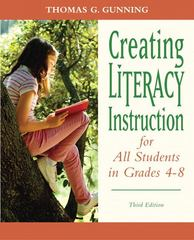 Creating Literacy Instruction for All Students in Grades 4 to 8 3rd edition 9780132317443 0132317443