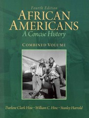 Remarkable African Americans A Concise History Combined Volume 4Th Edition Hairstyle Inspiration Daily Dogsangcom