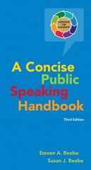 Concise Public Speaking Handbook 3rd edition 9780205753703 0205753701