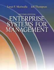 Enterprise Systems for Management 2nd Edition 9780132145763 0132145766