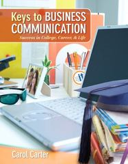 Keys to Business Communication 1st edition 9780136103332 0136103332