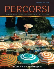 Percorsi 2nd Edition 9780205784721 0205784720