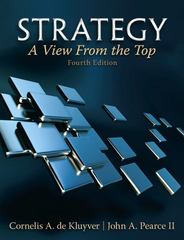 Strategy 4th edition 9780132145626 0132145626