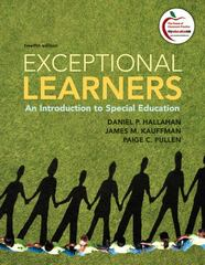 Exceptional Learners 12th Edition 9780137033706 0137033702