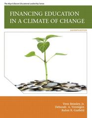 Financing Education in a Climate of Change 11th edition 9780137071364 0137071361
