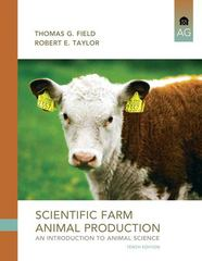 Scientific Farm Animal Production 10th Edition 9780135111499 0135111498