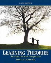 Learning Theories 6th edition 9780137071951 0137071957