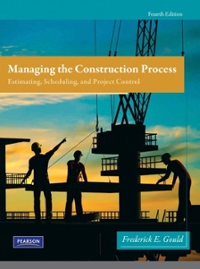 Managing the Construction Process 4th Edition 9780138135966 0138135967