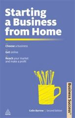 Starting a Business from Home 2nd Edition 9780749462642 0749462647