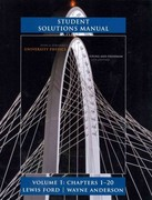 Student Solutions Manual for University Physics Volume 1 (Chs. 1-20) 13th edition 9780321696687 0321696689