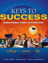 Keys to Success 7th Edition 9780137073603 0137073607