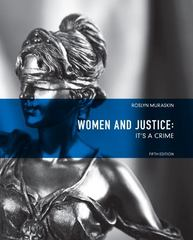 Women and Justice 5th Edition 9780135120897 0135120896