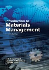 Introduction to Materials Management 7th edition 9780131376700 0131376705